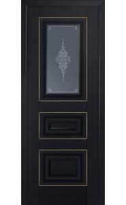 26U Черный матовый Стекло Кристалл Графит Золото