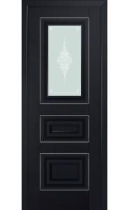 26U Черный матовый Стекло Кристалл Матовый Серебро