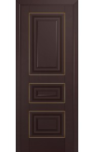 25U Темно-коричневый ДГ Золото
