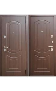 Дверь входные Зетта Комфорт 3 Б1 F022 Темный орех