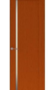 Дверь Океан Буревестник 1 Красное дерево Стекло белое