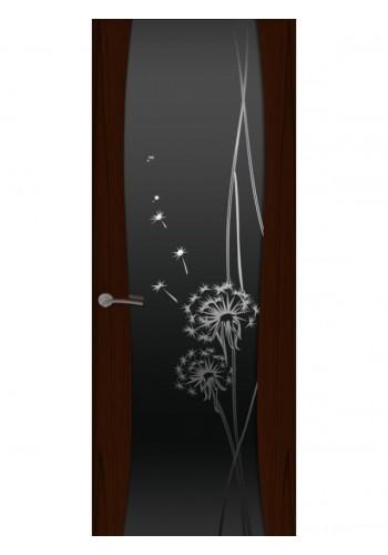 Буревестник-2 Одуванчик Ясень винтаж Стекло черное