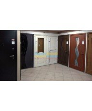 Фото установленной Дверь ВФД Атум Х11 Беленый дуб сатинат