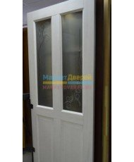 Фото установленной Дверь Белоруссии Ницца тон 10% ДГ