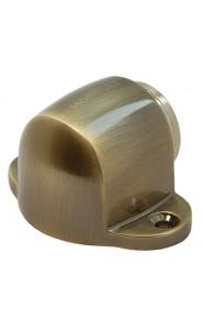 Дверной ограничитель магнитный напольный MDS-1 AB Бронза
