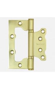 Петля без врезки 2BB-SB Матовый золото
