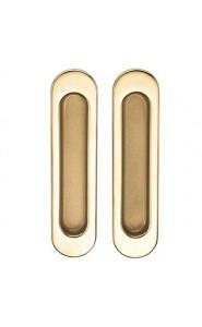Ручка Archie для раздвижных дверей SILLUR A-KO5-VO P.GOLD/S.GOLD Золото