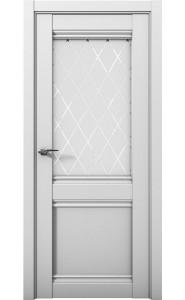 Дверь межкомнатная Cobalt 12 Серый, со стеклом