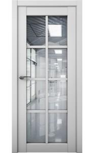 Дверь межкомнатная Cobalt 22 Серый, со стеклом
