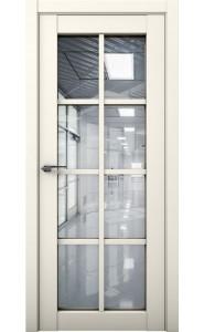 Дверь межкомнатная Cobalt 22 Слоновая кость, со стеклом