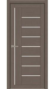 Дверь межкомнатная Light 2110 SoftTouch Тортора Soft touch, со стеклом