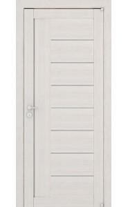 Дверь межкомнатная LIGHT 2110 Капучино велюр, со стеклом
