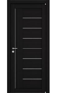 Дверь межкомнатная LIGHT 2110 Шоко велюр, со стеклом