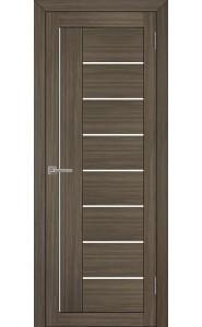Дверь межкомнатная LIGHT 2110 Велюр графит, со стеклом
