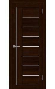 Дверь межкомнатная LIGHT 2110 Дуб шоколадный, со стеклом