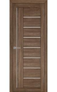 Дверь межкомнатная LIGHT 2110 Серый велюр, со стеклом