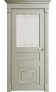 Дверь межкомнатная Florence 62001 Светло-серый Серена, со стеклом