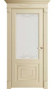 Дверь межкомнатная Florence 62002 Керамик Серена, со стеклом