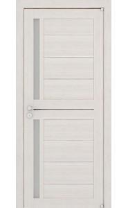 Дверь межкомнатная LIGHT 2121 Капучино велюр, со стеклом