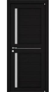 Дверь межкомнатная LIGHT 2121 Шоко велюр, со стеклом