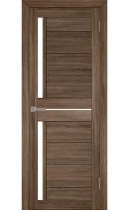 Дверь межкомнатная LIGHT 2121 Серый велюр, со стеклом
