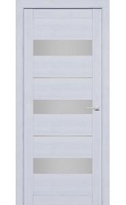 Дверь межкомнатная 226 Серый шелк (Ral 7047), со стеклом