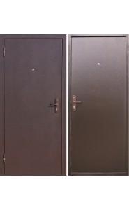 Дверь мет. Стройгост 5-1 металл Металл, со стеклом
