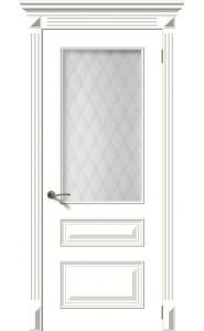 Багет 3 РАЛ 9010, со стеклом