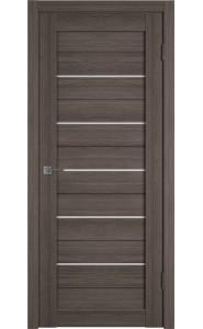 Межкомнатная дверь Atum 5, со стеклом, цвет Grey