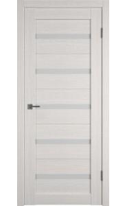 Межкомнатная дверь Atum 7, со стеклом, цвет Bianco