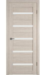 Межкомнатная дверь Atum 7, со стеклом, цвет Cappuccino