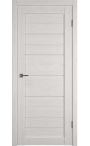Межкомнатная дверь Atum 5, со стеклом, цвет Bianco
