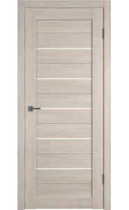 Межкомнатная дверь Atum 5, со стеклом, цвет Cappuccino