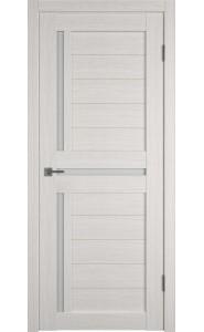 Межкомнатная дверь Atum 16, со стеклом, цвет Bianco