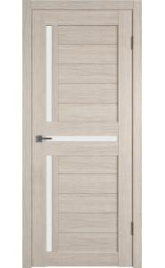 Межкомнатная дверь Atum 16, со стеклом, цвет Cappuccino