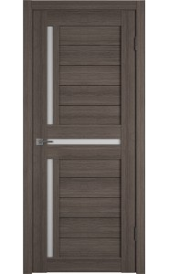 Межкомнатная дверь Atum 16, со стеклом, цвет Grey