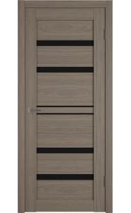 Межкомнатная дверь Atum Pro 26, со стеклом, цвет Brun Oak