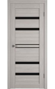 Межкомнатная дверь Atum Pro 26, со стеклом, цвет Stone Oak