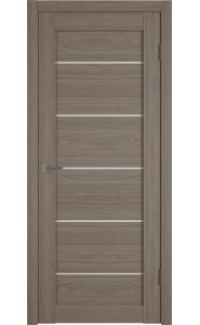 Межкомнатная дверь Atum Pro 27, со стеклом, цвет Brun Oak