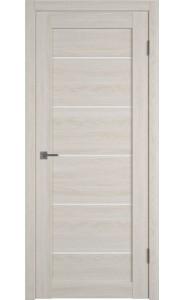 Межкомнатная дверь Atum Pro 27, со стеклом, цвет Scansom Oak
