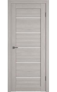 Межкомнатная дверь Atum Pro 27, со стеклом, цвет Stone Oak