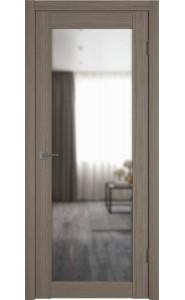 Межкомнатная дверь Atum Pro 32, со стеклом, цвет Brun Oak