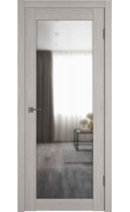 Межкомнатная дверь Atum Pro 32, со стеклом, цвет Stone Oak